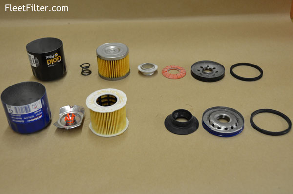 Parts Exploaded Wix Filter Napagold Oil Vs Acdelco
