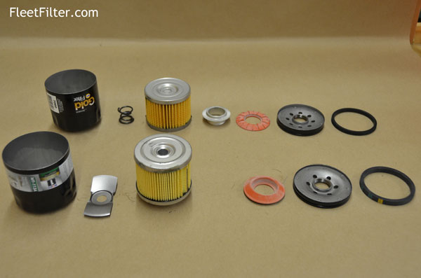 Parts Exploaded Napagold Oil Filter Vs Mobil1