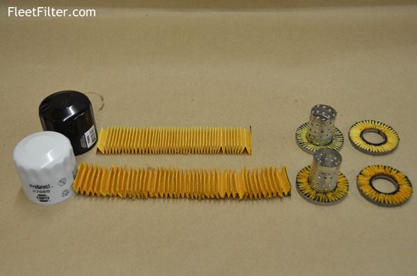 Filter Disembled Napagold Oil Vs Napa Proselect